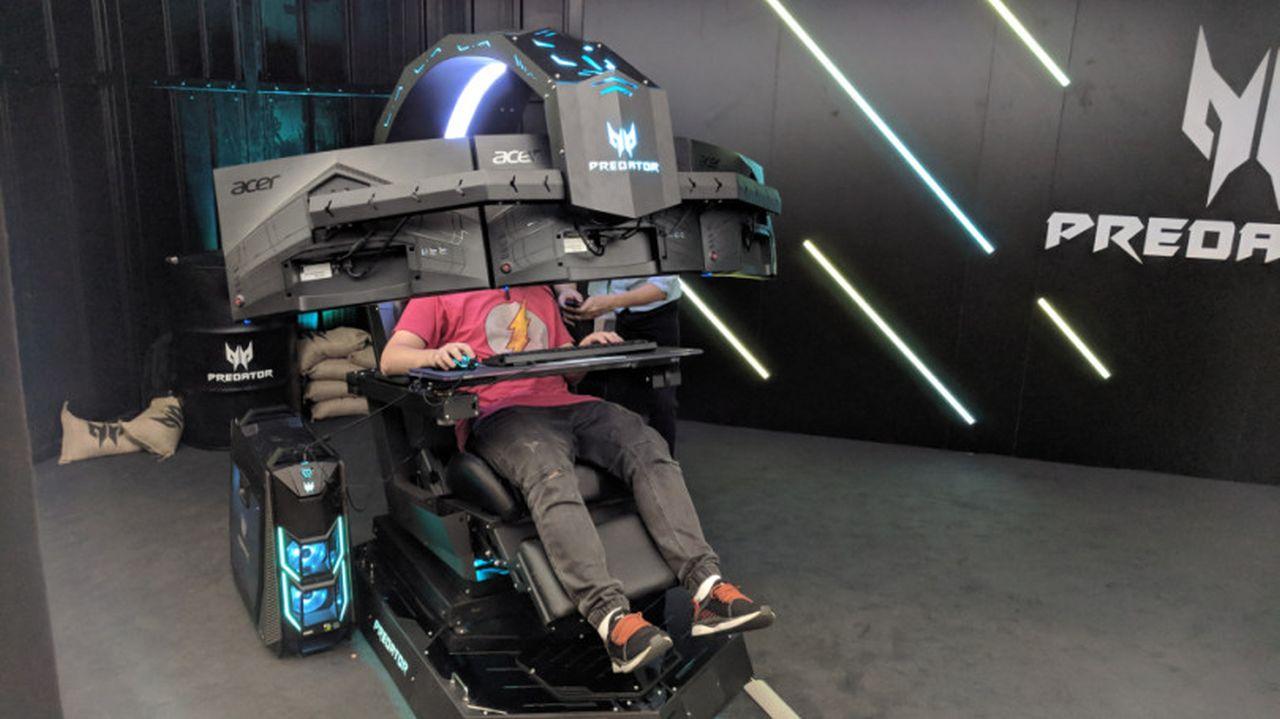 Emperor Gaming Chair >> Acer lancia sul mercato italiano il suo Predator Thronos ...