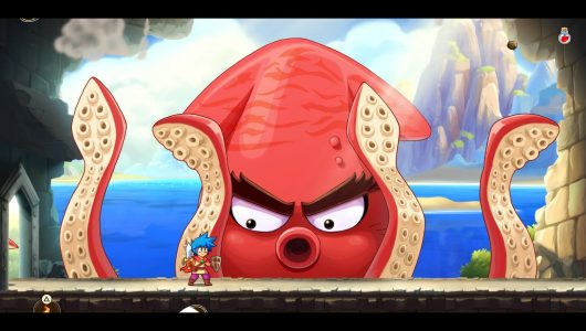 Monster Boy and the Cursed Kingdom demo switch