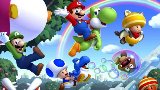 New Super Mario Bros U Deluxe Provato Anteprima switch apertura