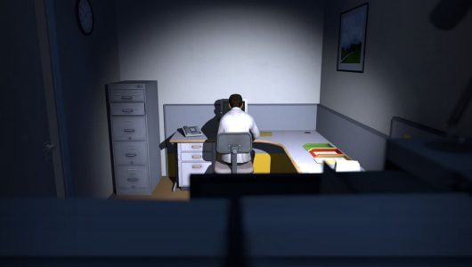 The Stanley Parable console