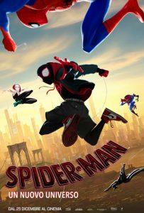 spider man un nuovo universo poster