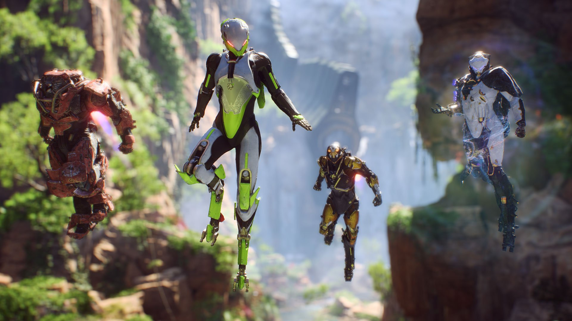 Anthem matchmaking