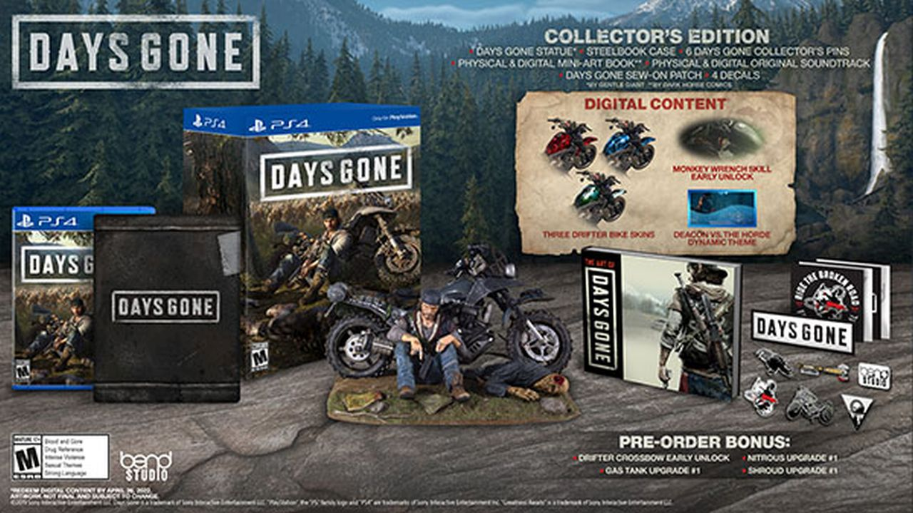 days gone collector