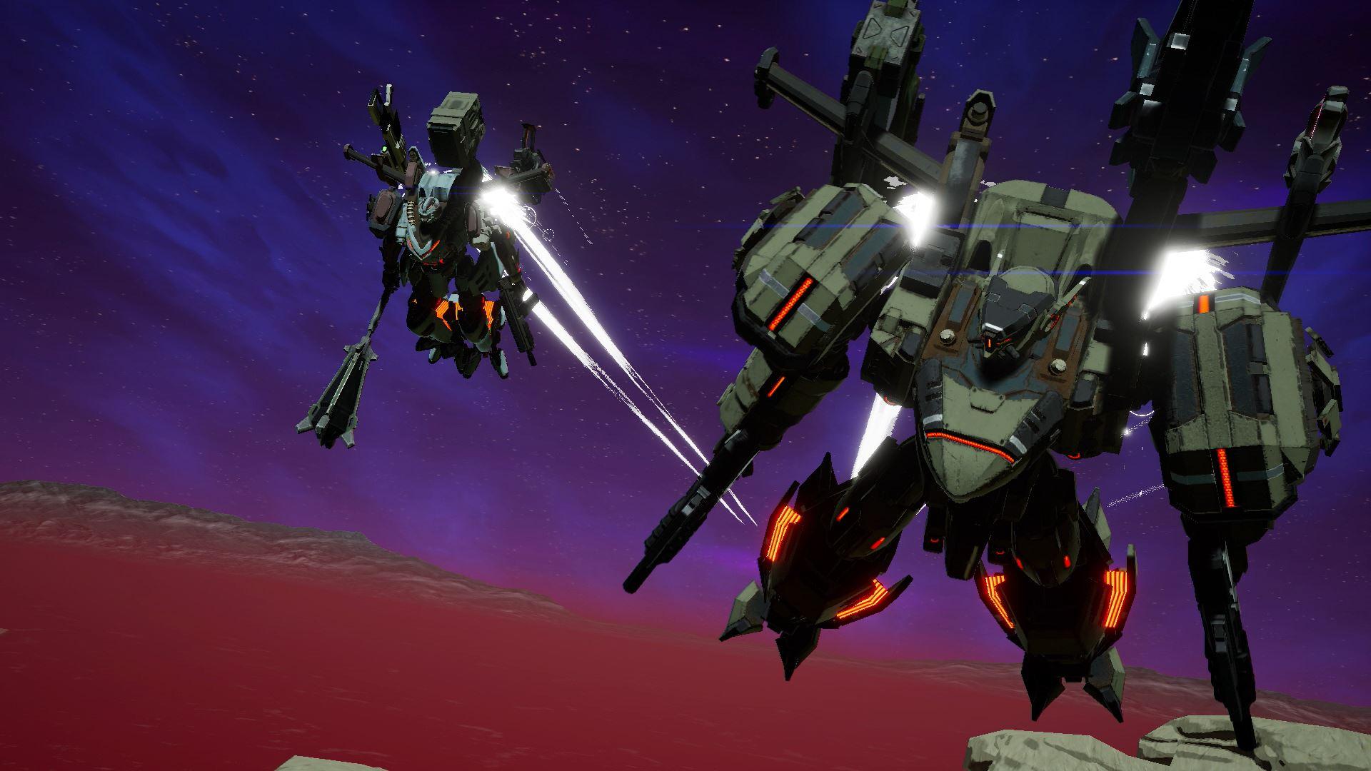 Daemon X Machina multiplayer