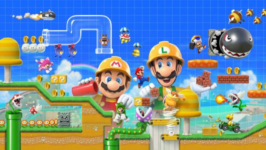 super mario maker 2 anteprima switch apertura