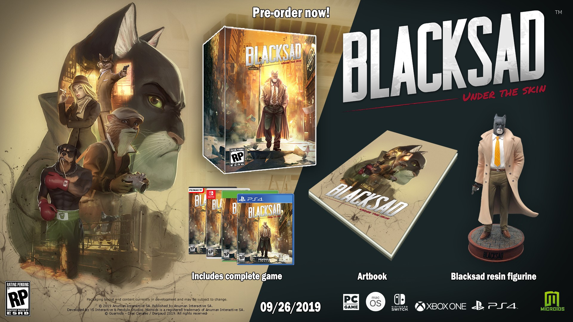 Blacksad Under the Skin collector's edition