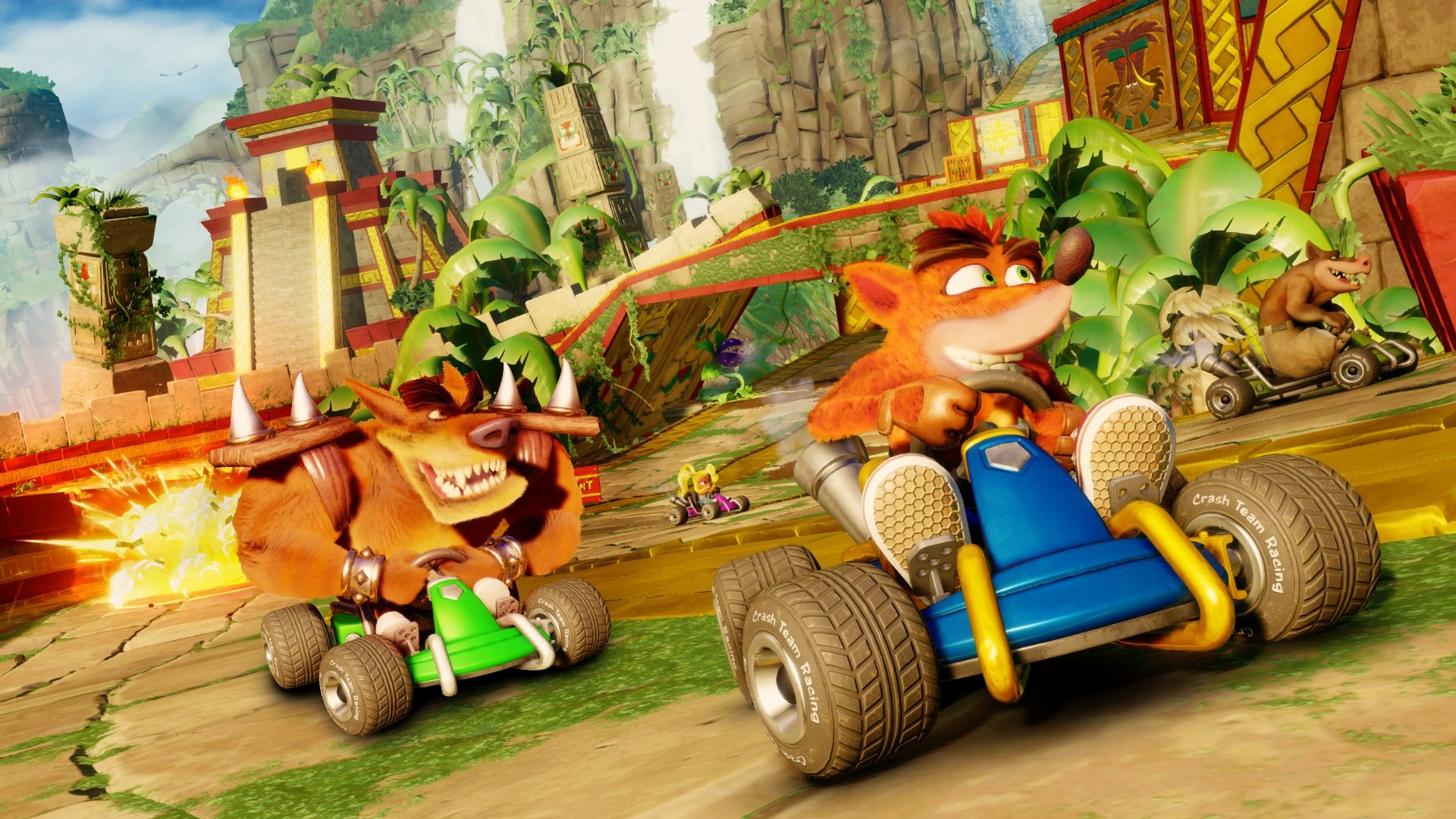 Crash Team Racing Nitro Fueled anteprima