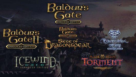 baldur's gate console