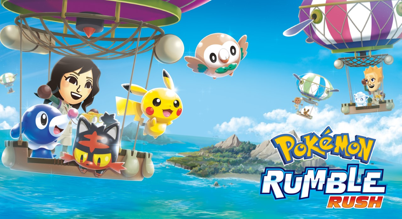 pokémon rumble rush