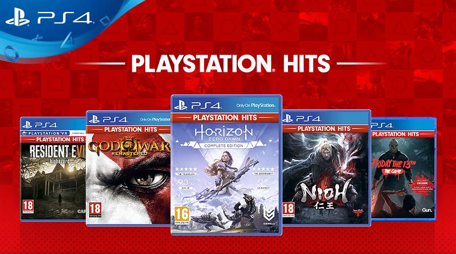 playstation hits lineup