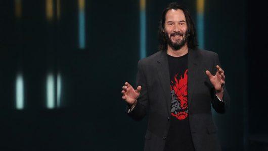 Microsoft E3 2019 keanu reeves