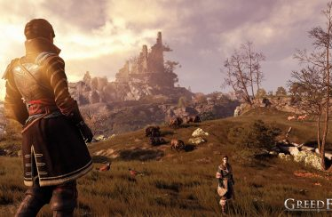 Greedfall trailer compagni
