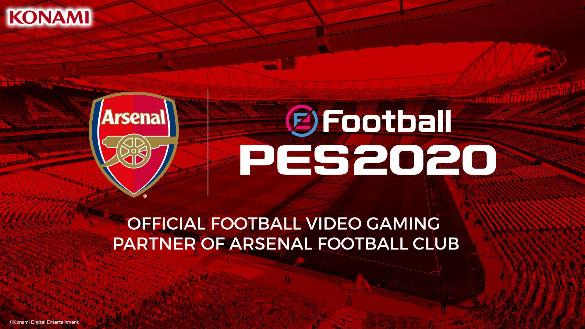 eFootball PES 2020 Arsenal FC