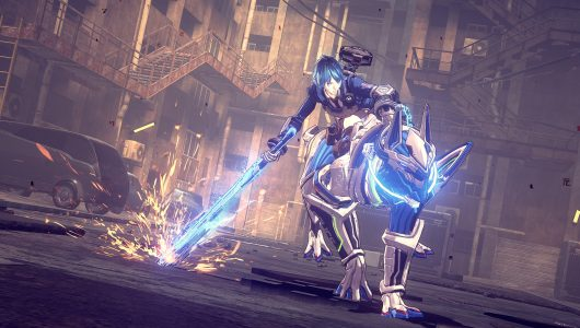 Astral Chain gameplay gamescom