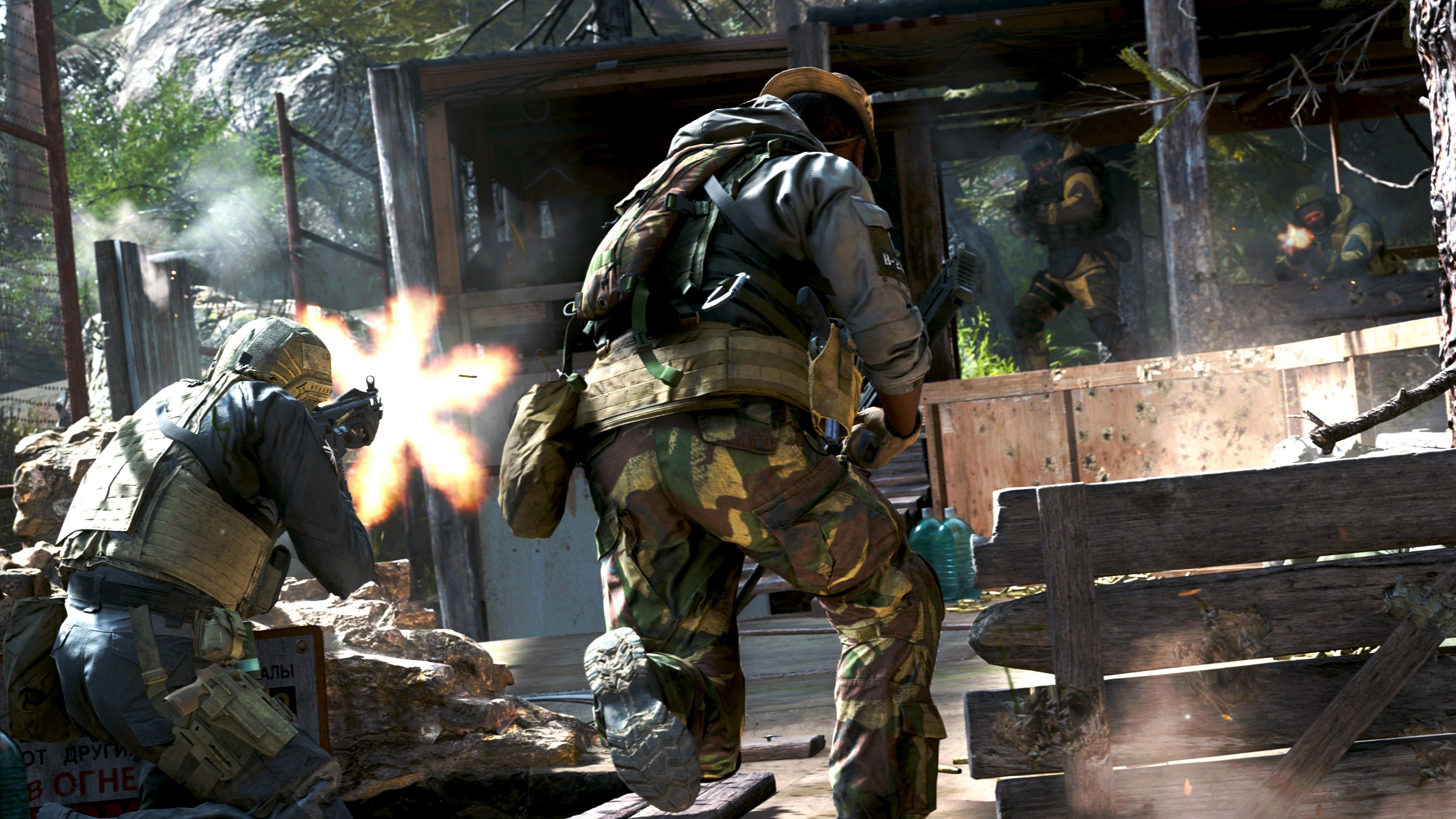 Call of Duty Modern Warfare Multiplayer requisiti beta