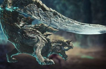monster hunter world gameplay acidic glavenus