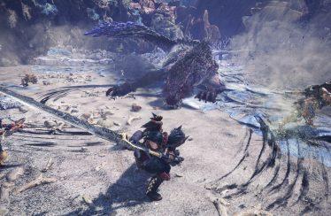 Monster Hunter World Iceborne gameplay