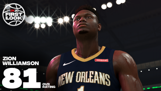 nba 2k20 zion williamson