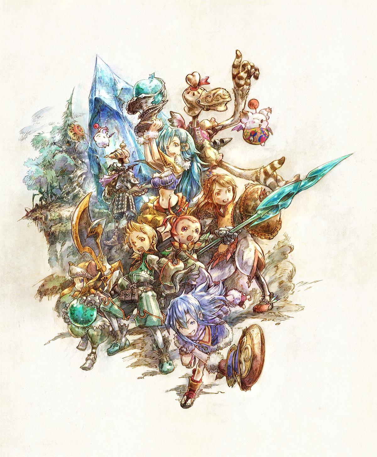 final fantasy crystal chronicles remastered uscita