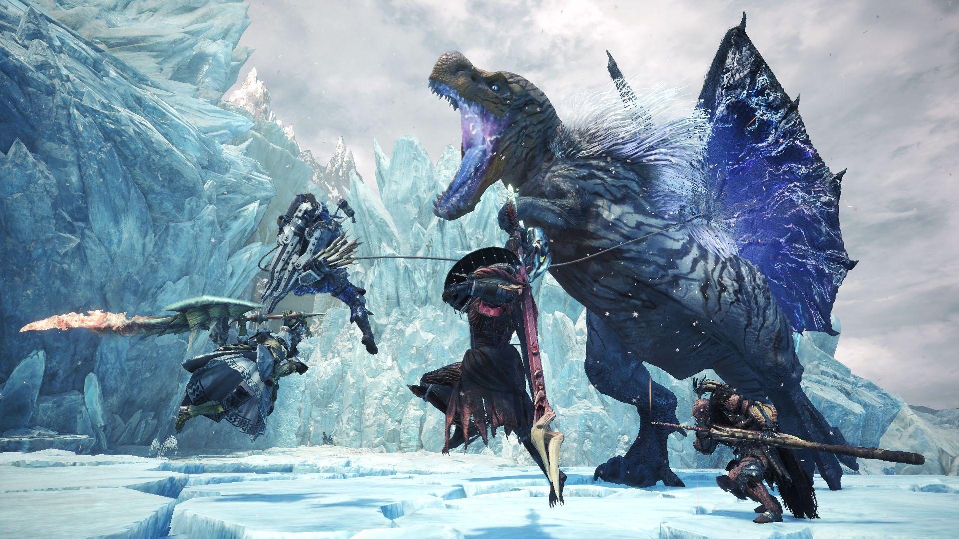 Monster Hunter World Iceborne vendite