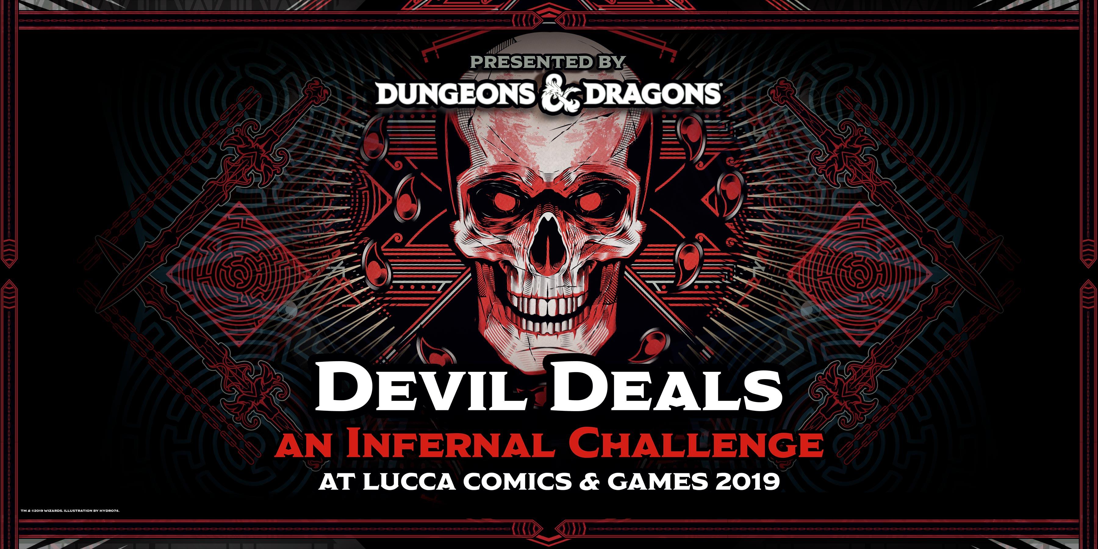 dungeons & dragons lucca comics