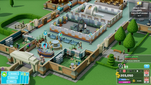 two point hospital console 2020