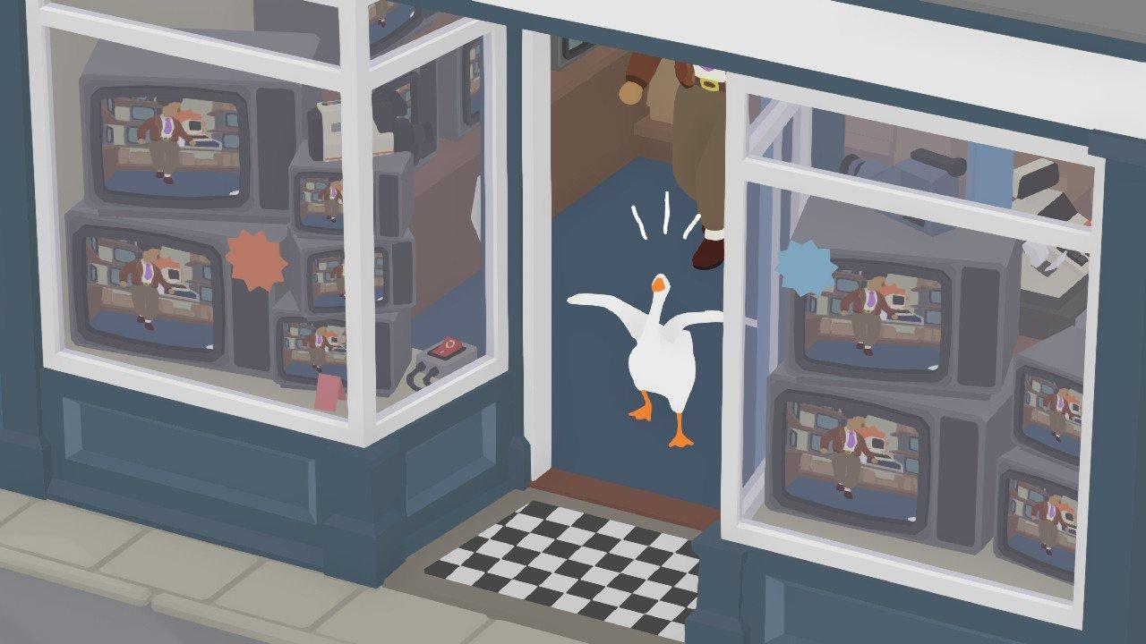 untitled goose game recensione