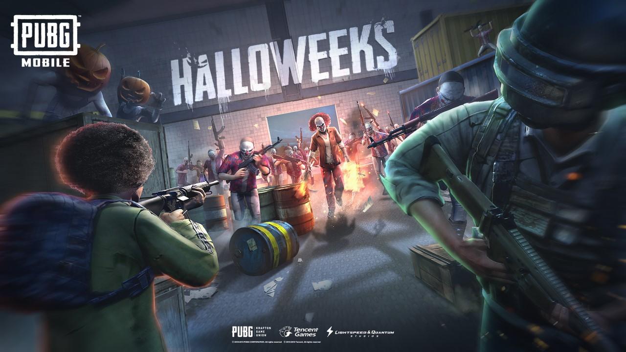 pubg mobile halloween