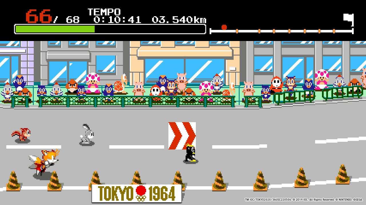 Mario & Sonic tokyo 2020 recensione