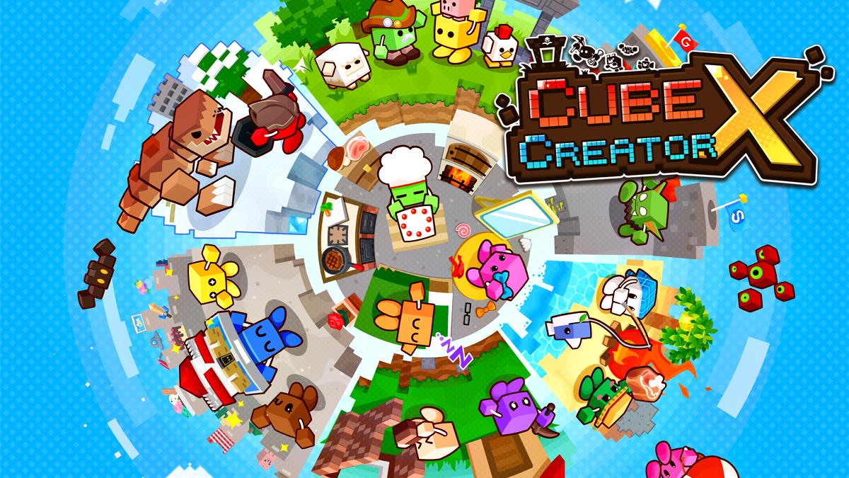 Cube Creator X uscita