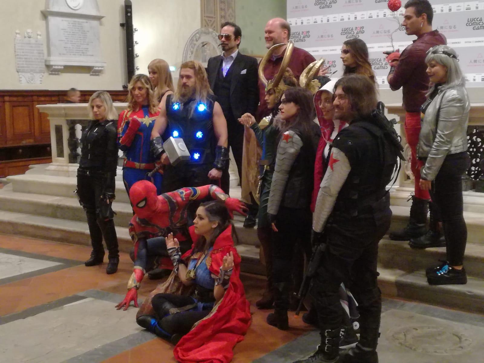 marvels avengers speciale lucca comics
