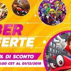Nintendo Switch cyber offerte 2019