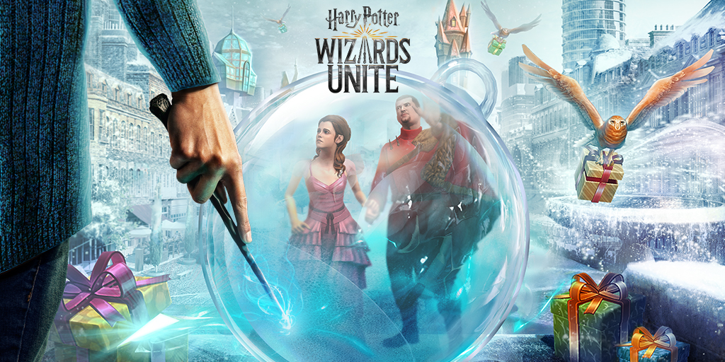 harry potter wizards unite natale