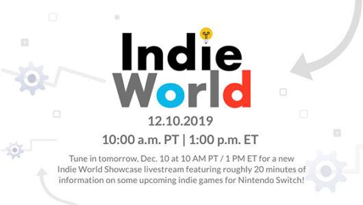 indie world 10 dicembre