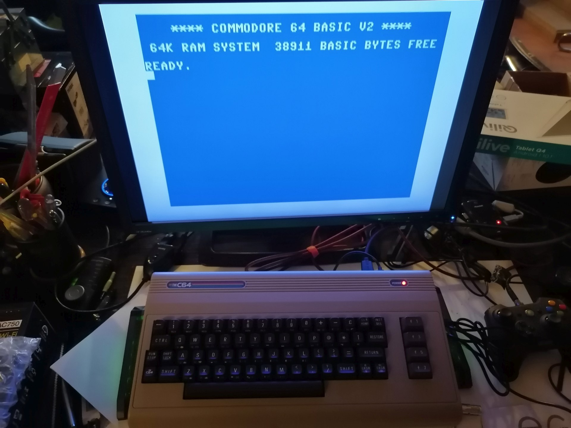 TheC64 Commodore 64 retro console retrogaming