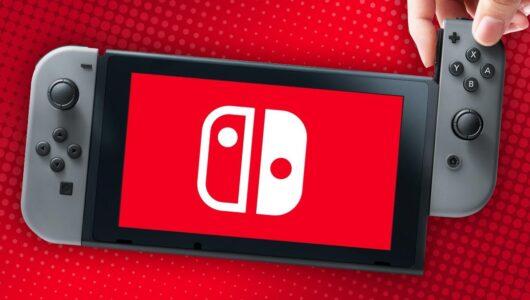 nintendo switch base installata