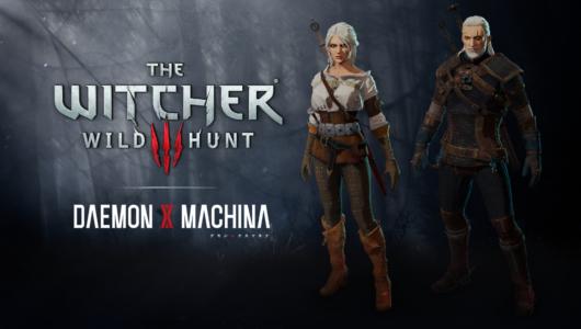 daemon x machina the witcher