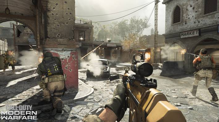 call of duty modern warfare multiplayer
