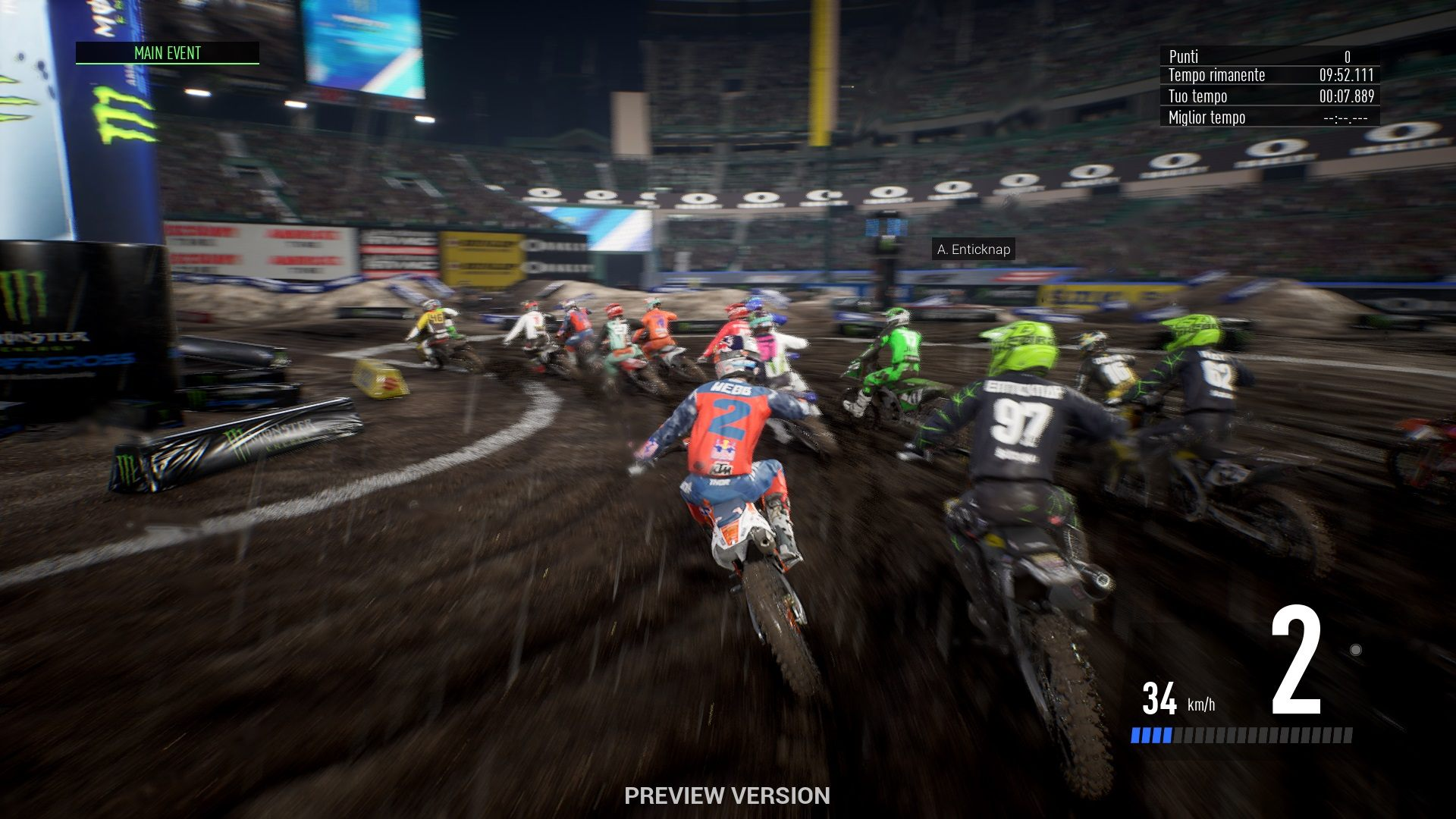 Monster Energy Supercross 3 Provato Monster Energy Supercross 3 Anteprima Monster Energy Supercross the official videogame 3