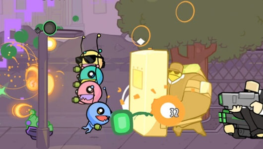 alien hominid invasion gameplay
