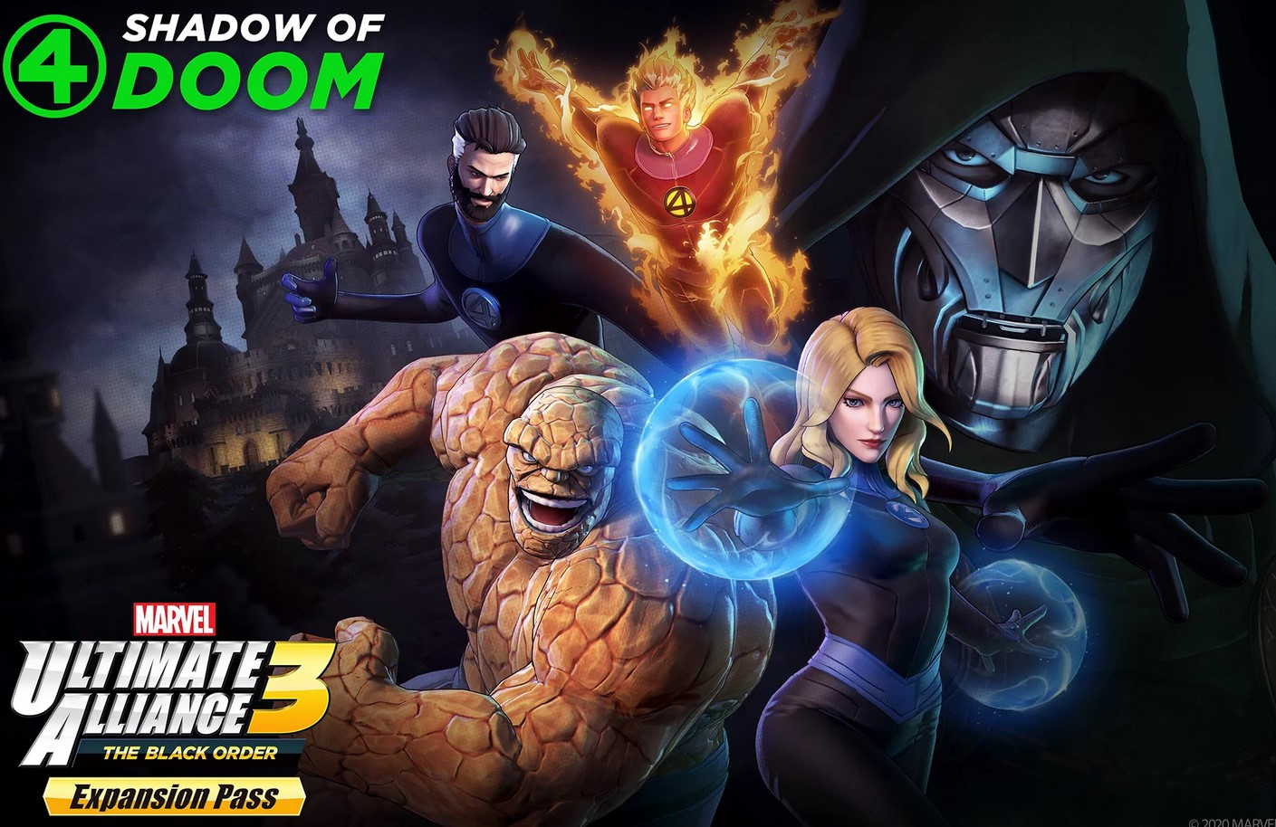 Marvel Ultimate Alliance 3 Shadow of Doom