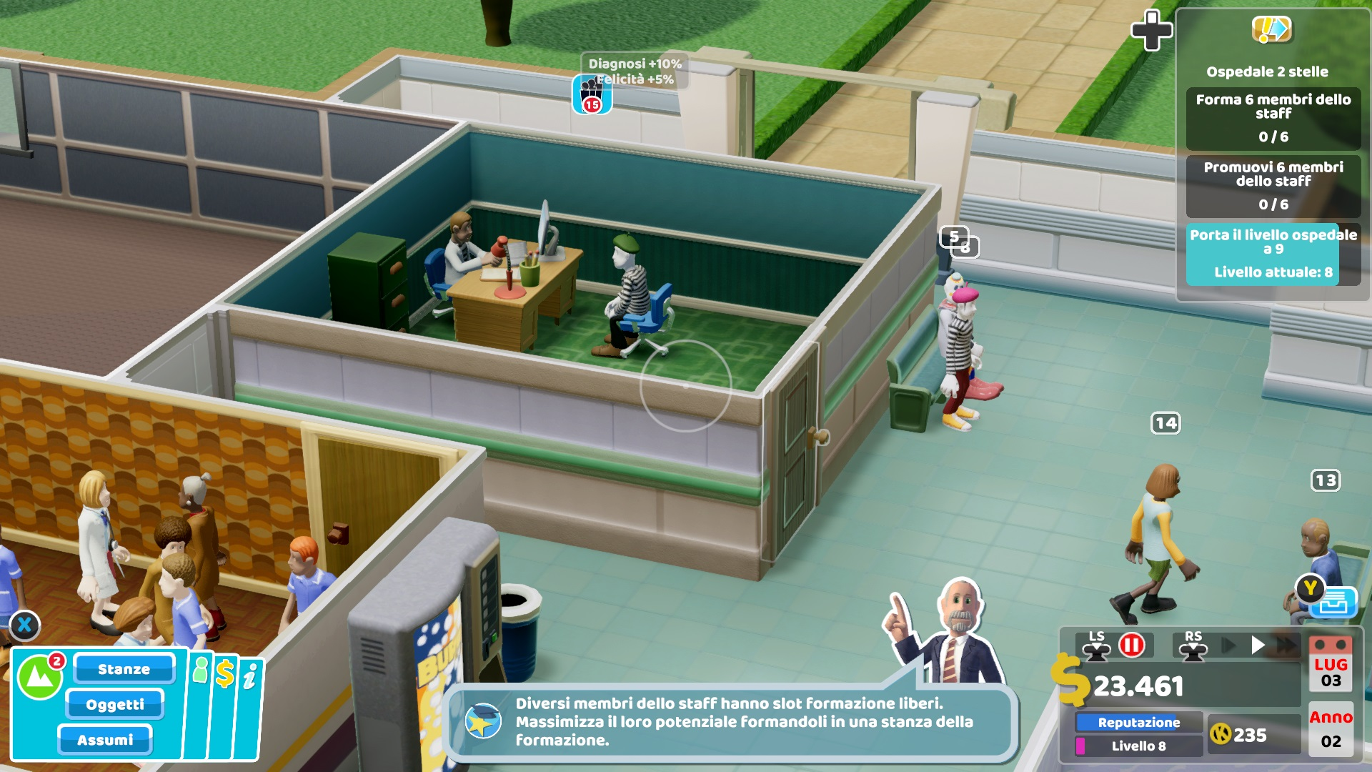 Two Point Hospital Recensione Two Point Hospital console Two Point Hospital Switch