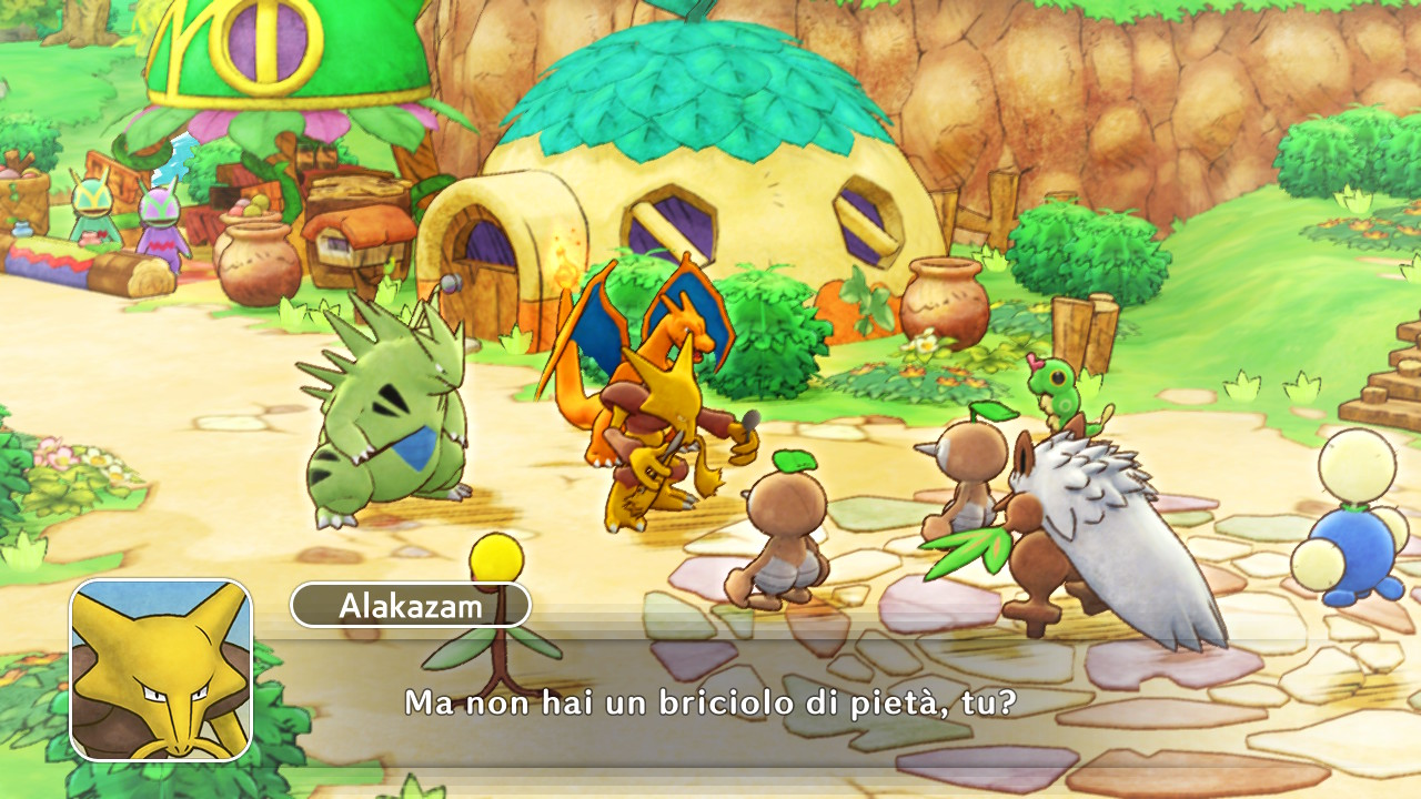 Pokémon Mystery Dungeon: Squadra di soccorso DX recensione Pokémon Mystery Dungeon Switch Pokemon Mystery Dungeon: Rescue Team DX
