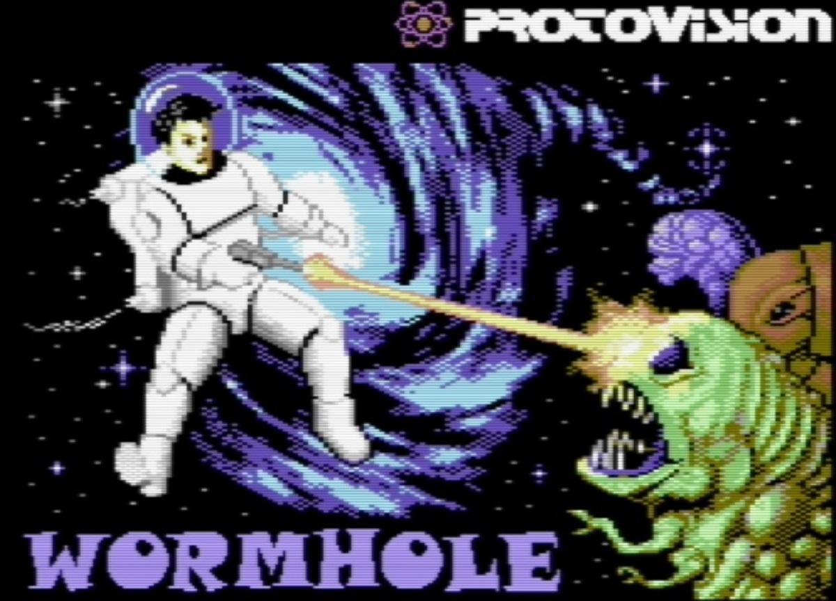 Wormhole Recensione C64