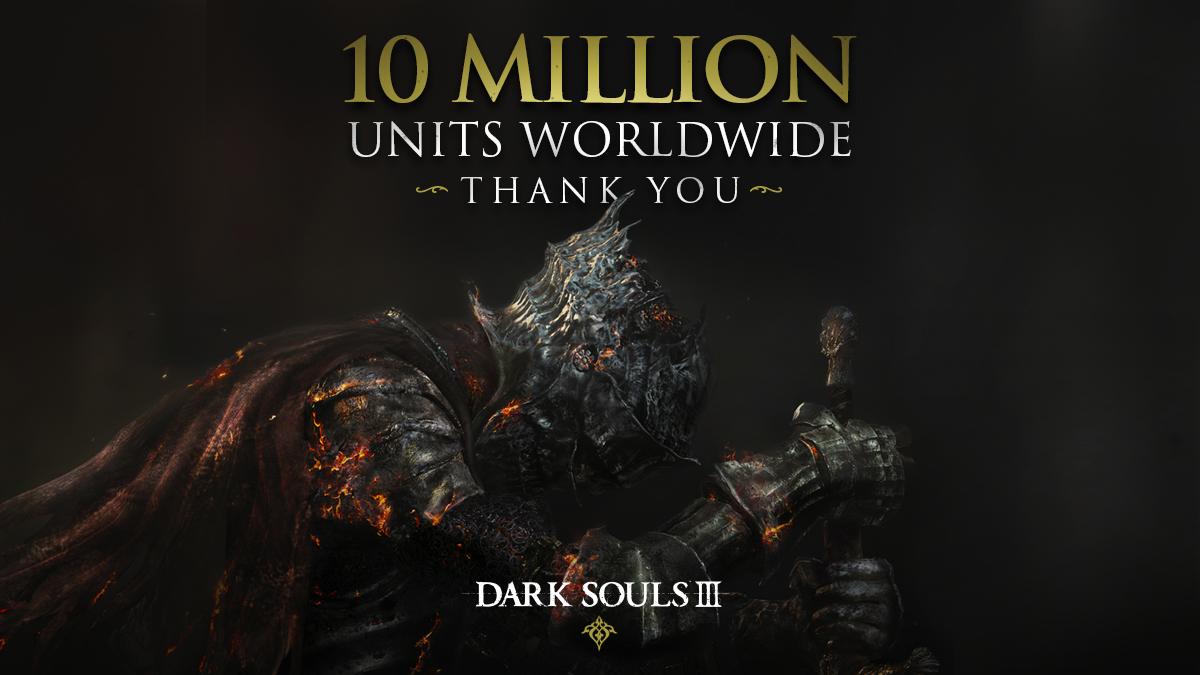 Dark Souls III vendite