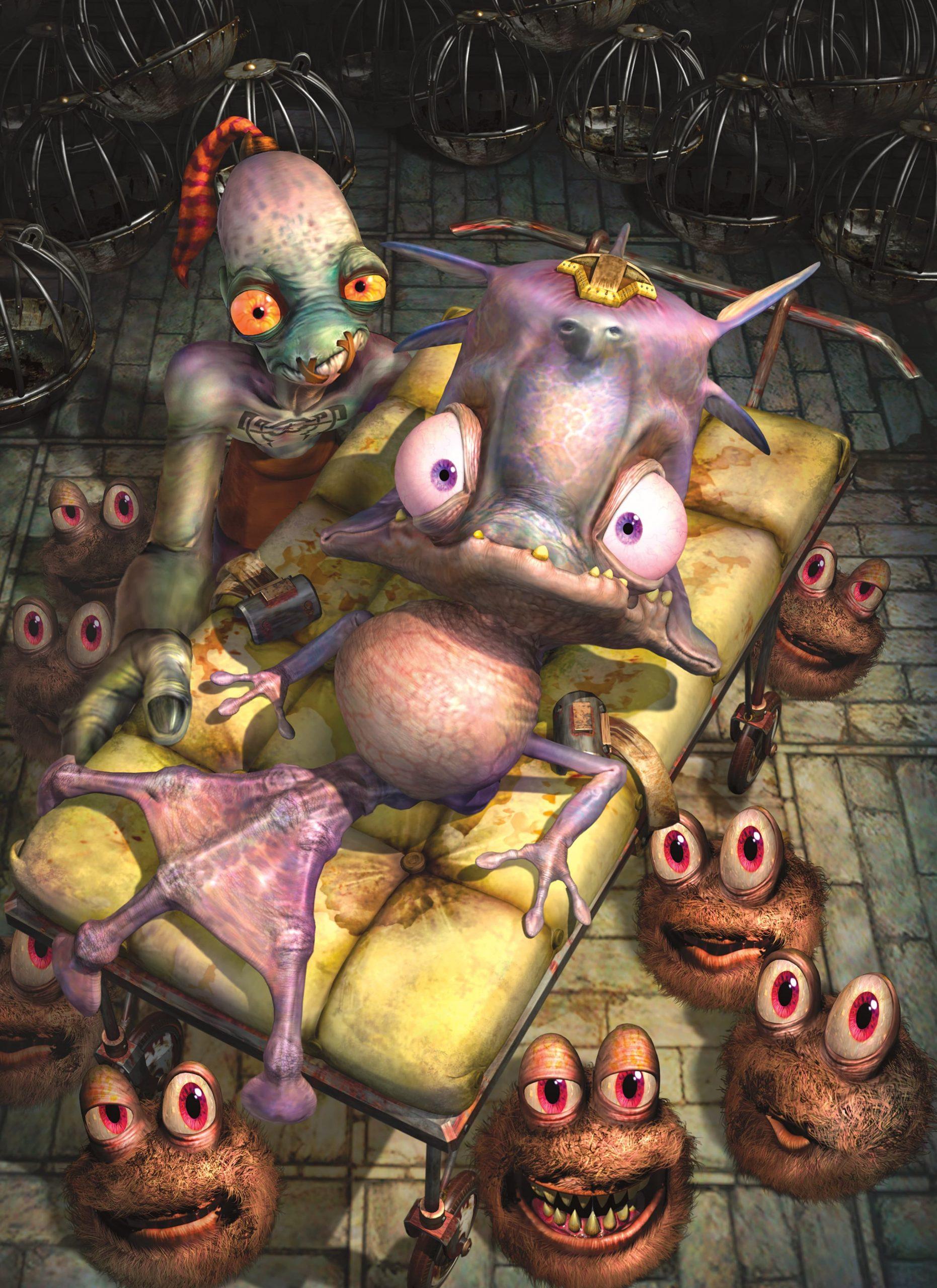 Oddworld Munc's Oddyssey Nintendo Switch