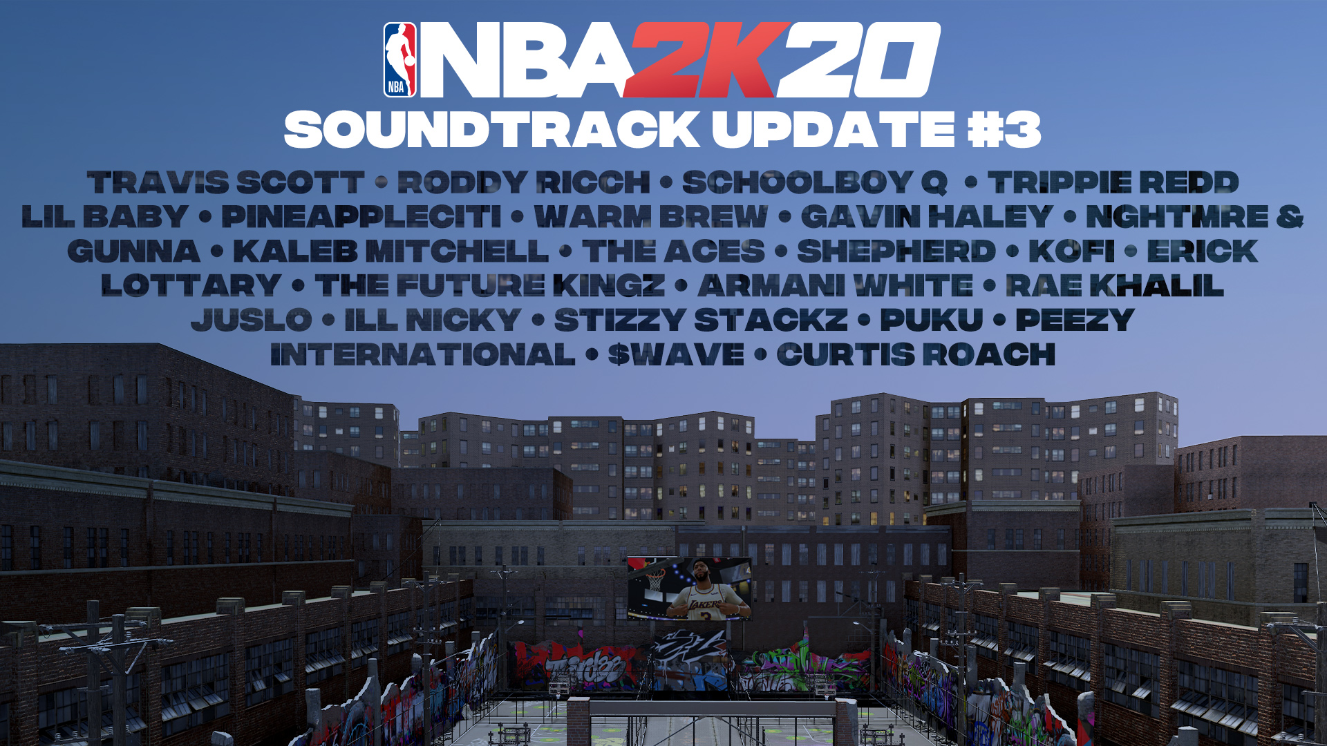 NBA 2K20 soundtrack