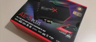Creative Sound Blaster-X AE-5 Plus – Recensione