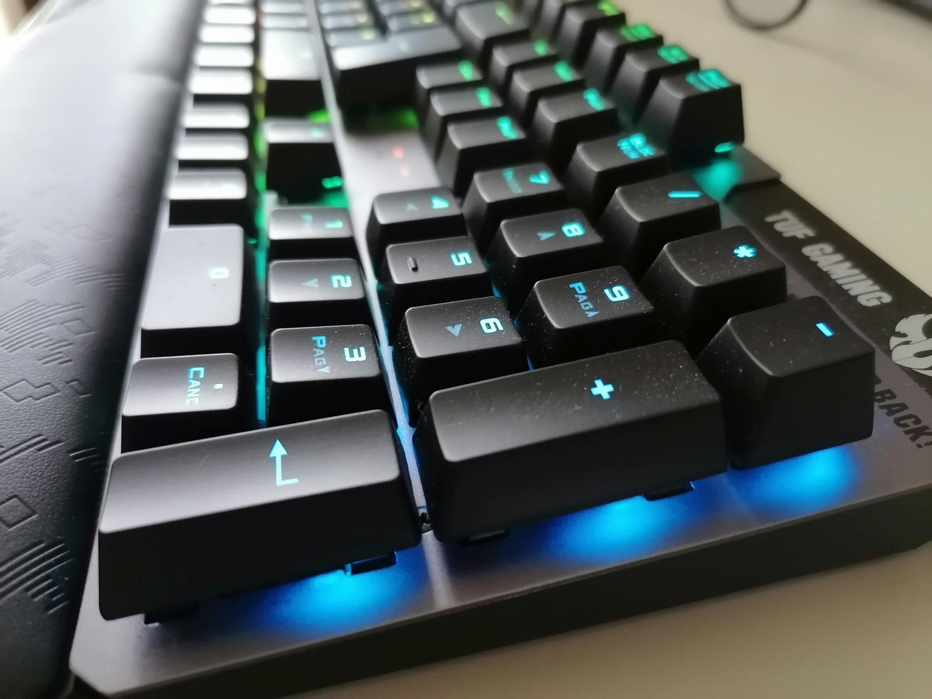 ASUS TUF Gaming K7 Recensione