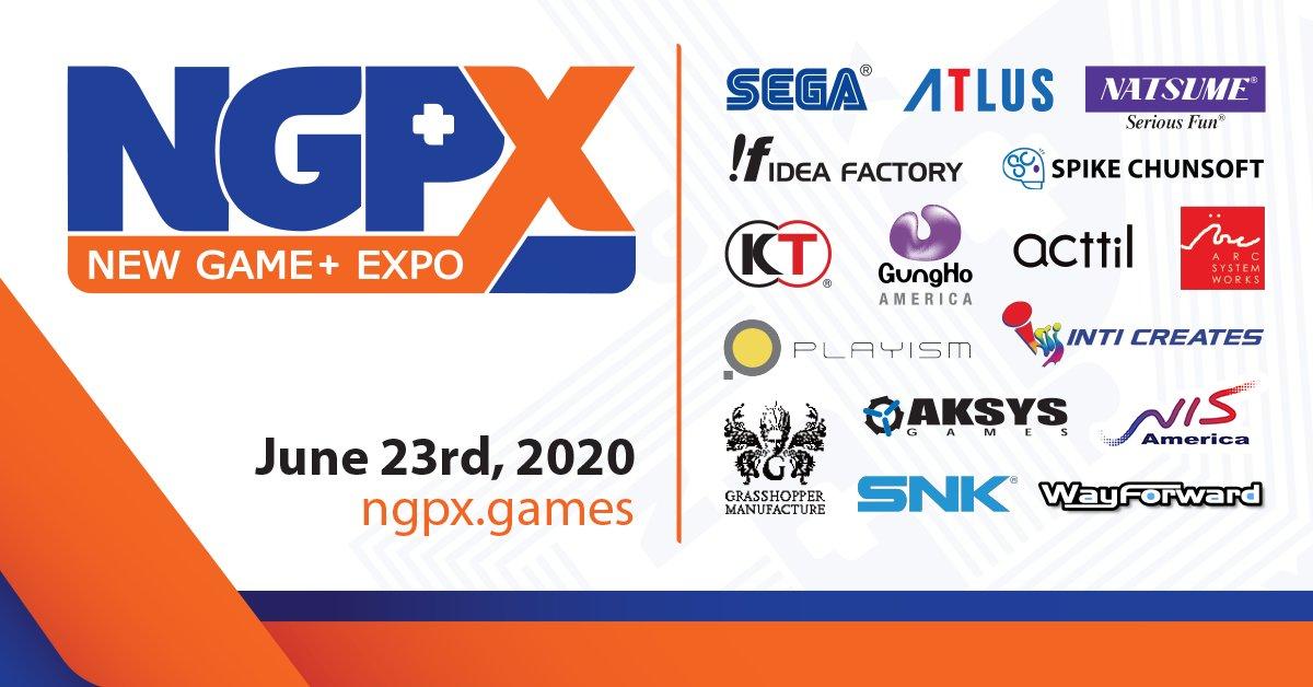 New Game+ Expo News